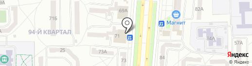 Mobil-Citi на карте Салавата