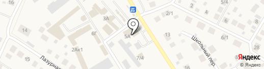 Магазин хозяйственных товаров на карте Чесноковки