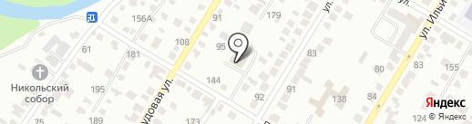 Альфина на карте Стерлитамака
