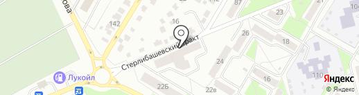 Аригато на карте Стерлитамака