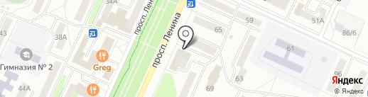 Фобос на карте Стерлитамака