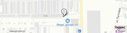РОСС на карте Салавата