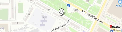 Автоклуб №1 на карте Стерлитамака