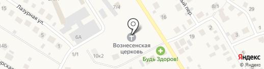 Православный приход на карте Чесноковки