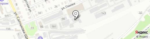 Баш ЛСК на карте Стерлитамака