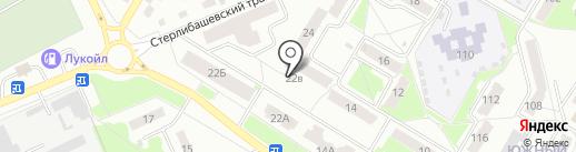 Бархат на карте Стерлитамака