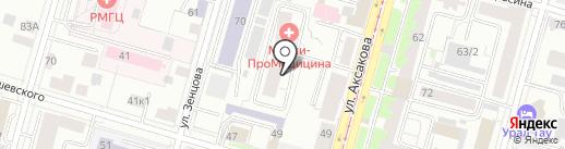ПСК-6 на карте Уфы