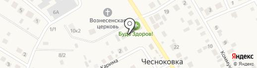 Камелия на карте Чесноковки