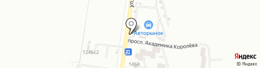 Магазин автоэмалей на карте Стерлитамака