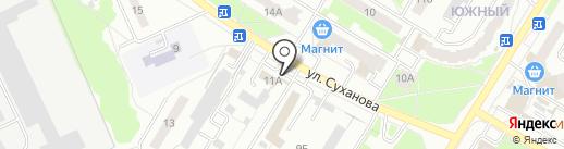 Шиномонтажная мастерская на карте Стерлитамака