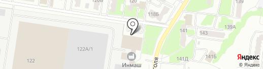 Магазин экономной мебели на карте Стерлитамака