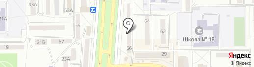 Телек на карте Салавата