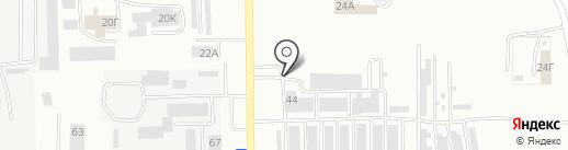 Шиномонтажная мастерская на карте Салавата