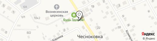 Минимаркет на карте Чесноковки