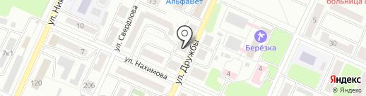 Магазин канцелярских товаров на карте Стерлитамака