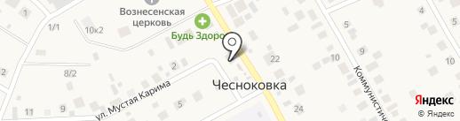 Абракадабра на карте Чесноковки