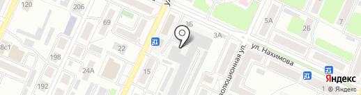 Мебель-Хоф на карте Стерлитамака