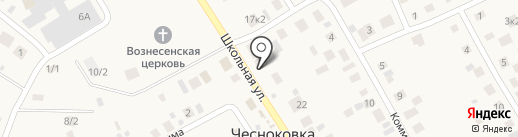 ЦВЕТОЧНЫЙ РАЙ на карте Чесноковки