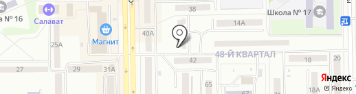 СТАРТ на карте Салавата