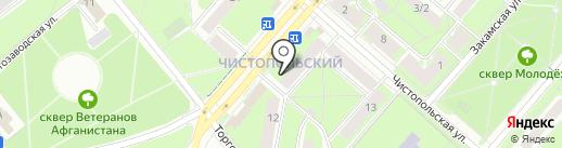 Selfie на карте Перми