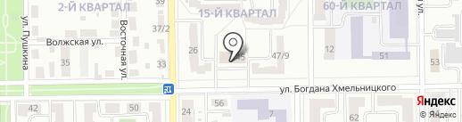 Управляющая компания ЖЭУ-1 на карте Салавата