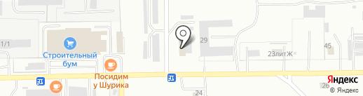 Скай на карте Салавата