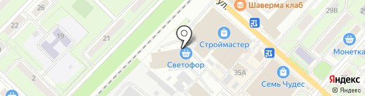 ПУПС на карте Перми
