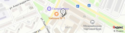 Магазин мясных полуфабрикатов на карте Стерлитамака