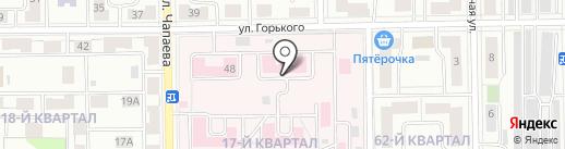 Городская больница г. Салават на карте Салавата