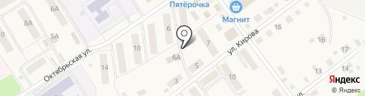 Магазин электротоваров на карте Култаево