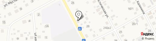 Пышка на карте Чесноковки
