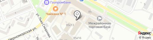 Компания по продаже сантехники на карте Стерлитамака