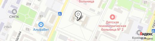Городской отдел судебных приставов Управления Федеральной службы судебных приставов по Республике Башкортостан на карте Стерлитамака