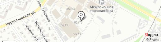 Продовольственный магазин на карте Стерлитамака