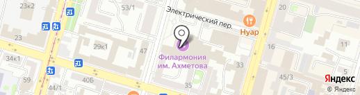 Эстрадно-джазовый оркестр на карте Уфы