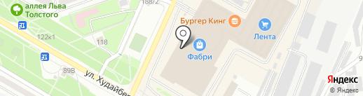 Ишимбайская чулочная фабрика на карте Стерлитамака