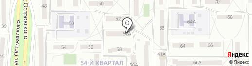 Юрматы на карте Салавата