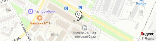 Стерлитамакское агентство независимой оценки на карте Стерлитамака