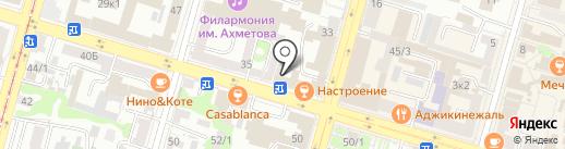 ИДЕАЛЬНАЯ ЛИНИЯ на карте Уфы