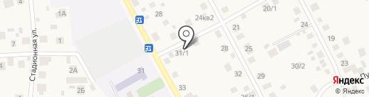 Пегрин на карте Чесноковки