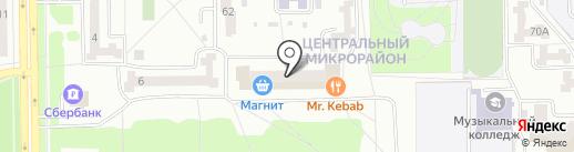 Детская библиотека №7 на карте Салавата