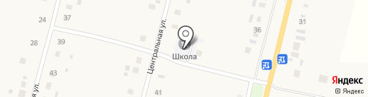 Наумовская средняя школа на карте Покровки