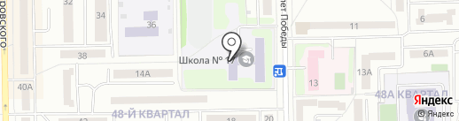 Средняя общеобразовательная школа №17 на карте Салавата