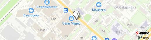 СитиСпорт на карте Перми