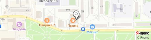 Пышка на карте Салавата