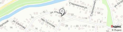 Облака на карте Стерлитамака