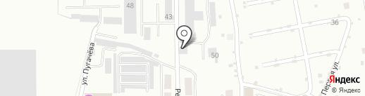 Салаватжилстрой на карте Салавата