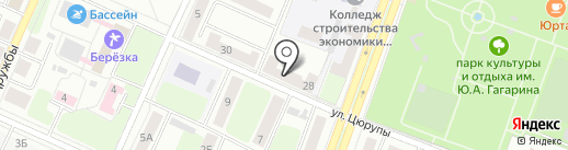 Анонимные Наркоманы на карте Стерлитамака