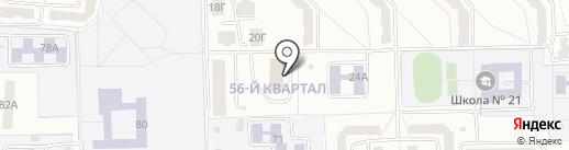 Искра на карте Салавата