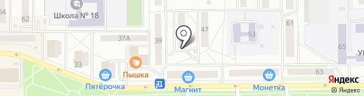 Продуктовый магазин на карте Салавата